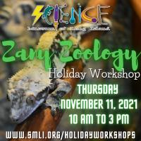 Holiday Program - 2021 - Nov 11 - Zany Zoology