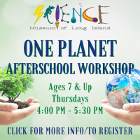 Afterschool Program Thursday - Sept 2021 - Ages 7 and Up - One Planet