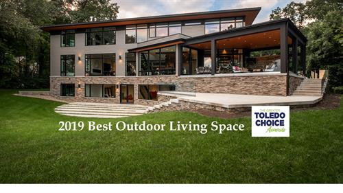 2019 Best Outdoor Living Space
