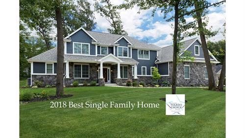 2018 Best Single Family Home