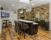 Patriots Landing Basement Bar