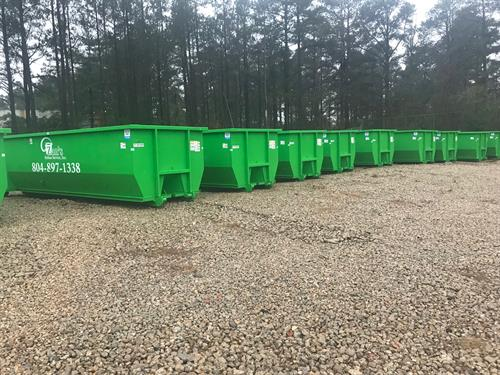 Huge Inventory of 30-yard dumpsters