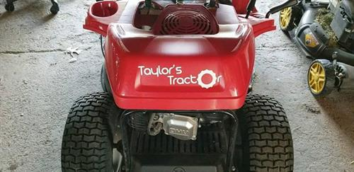 Taylor's Tractor Decal