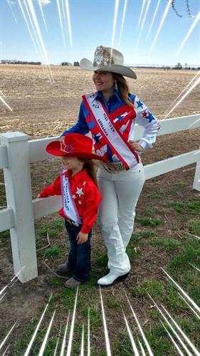 We love the Rodeo Queens!