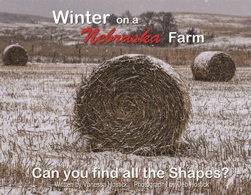 Winter on a Nebraska Farm Book Front Cover