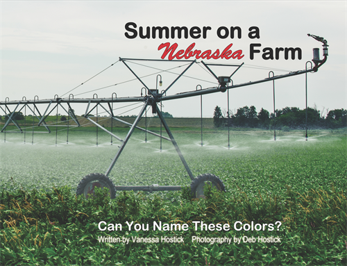 Summer on a Nebraska Farm Book Front Cover