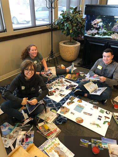 Team building workshop at Corpuz Family Dentistry in Omaha 1/2019