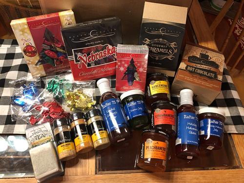 GROW Nebraska gourmet candies, jellies, pepper spreads