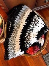 Percy Art handmade crocheted rag rugs