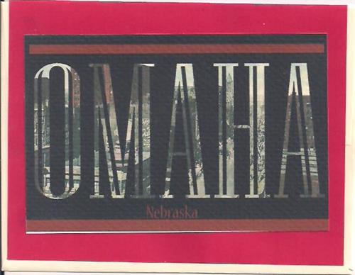 Omaha Postcard Letters Greeting Card