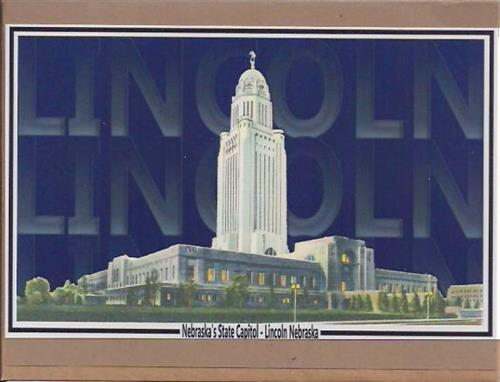 Lincoln State Capital Building Greeting Card