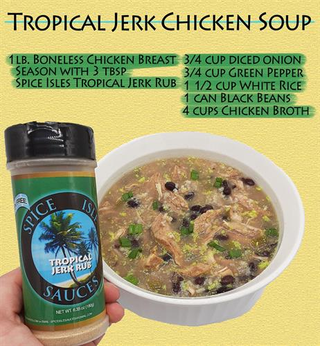 Jerk Chicken Soup