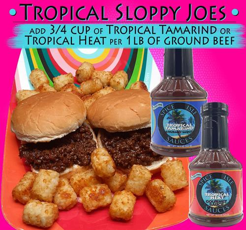 Tropical Sloppy Joes