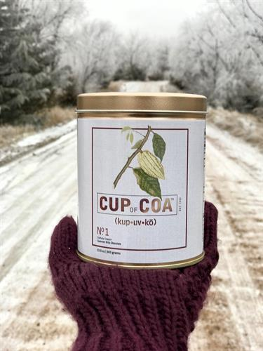 Bring the best luxury gourmet cocoa home with you