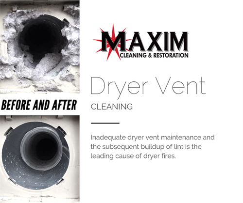 Before and After Dryer Vent