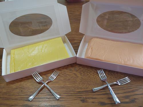 Creamy Lemon and Orange Dream Sickle Fudge