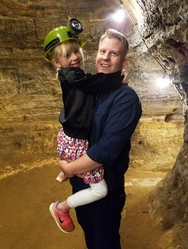 Green, and at times his daughter Brooklyn, give tours of Robber's Cave year-round, seven days a week!