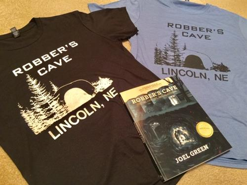 Look for a copy of the Award-Winning Robber's Cave Book or a retro 1986 T-shirt!
