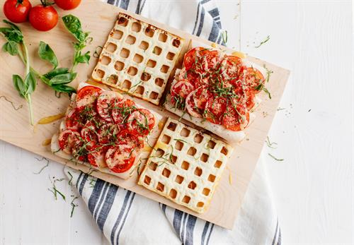 Heavenly Waffles can be made so many different ways