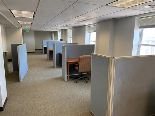 The McCook Cowork Space is the newest offering from MEDC on the 4th floor of the Keystone.
