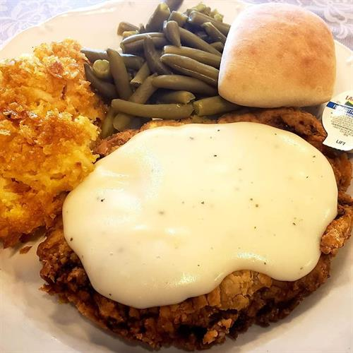 Friday Lunch Special - Chicken Fried Steak!