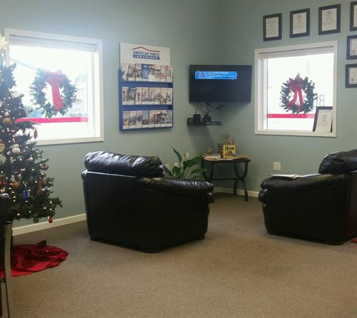 North Platte Waiting Area