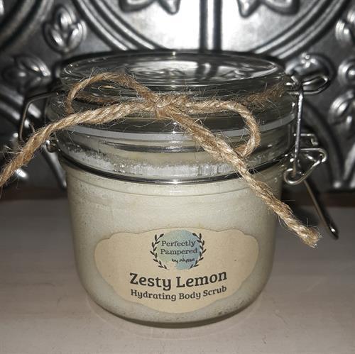 Zesty Lemon Hydrating Body Scrub