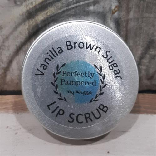 Vanilla Brown Sugar Edible Lip Scrub