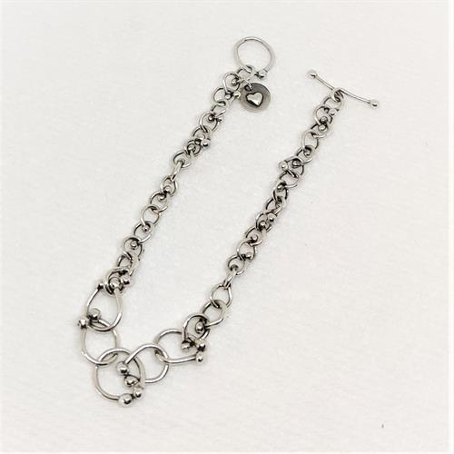 Fine Silver Fused Bracelet