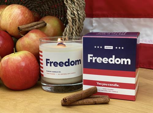 Yes You Candle FREEDOM