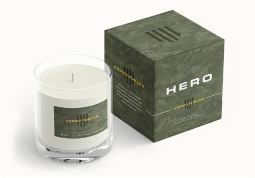 Yes You Candle HERO: Armed Forces