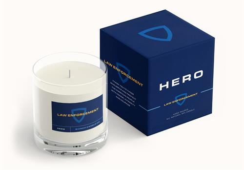 Yes You Candle HERO: Law Enforcement