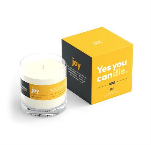 Yes You Candle Joy
