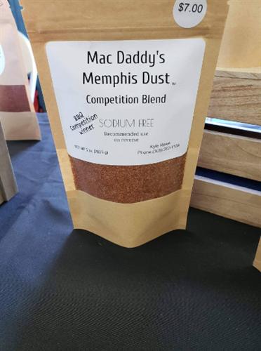 Memphis Dust Competition Blend-Sodium Free