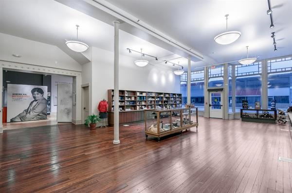 Shop in the newly renovated bookstore