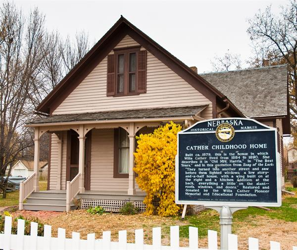 Take a guided tour through the Cather Childhood Home & 6 other historic sites