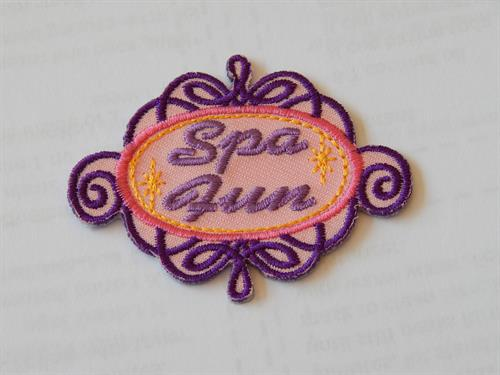 Badge for Girl Scout Spa Day