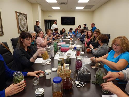 CEU class for Universal College of Healing Arts - Herbal Oils for Massage