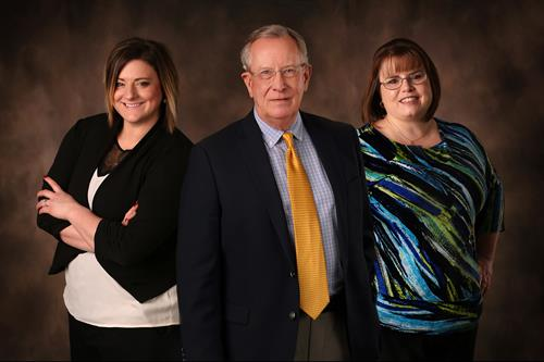 PCDC Staff (Carley Bruning, Ron Tillery, Stacy Pafford)