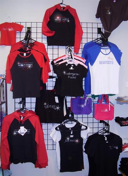 Rhinestone Apparel and Accessories