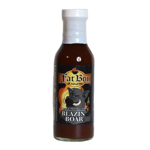 Blazin' Boar BBQ Sauce 12 oz