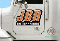 JBR Enterprises semi decals from Rock and Rowel Creative Studio