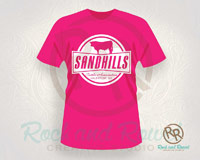Sandhills Cattle Association shirt design from Rock and Rowel Creative Studio
