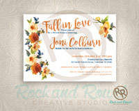 Fall wedding shower from Rock and Rowel Creative Studio