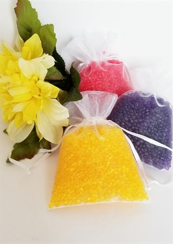 Fragrant sachet bags, these are perfect for cars, bathrooms, closets or anywhere you would like a little extra fragrance.