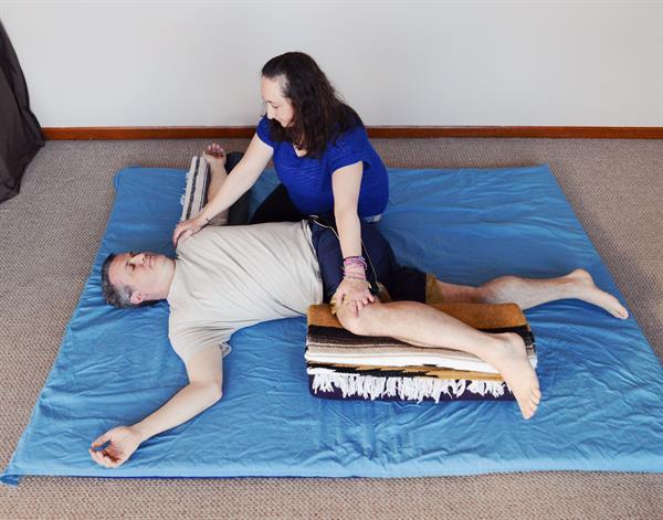 Phoenix Rising Yoga Therapy posture