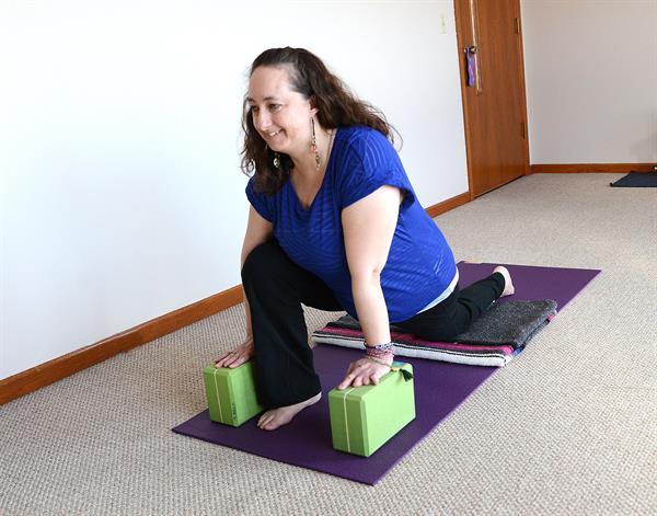 Me in a favorite yoga posture