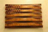 Wine Barrel Stave American Flag