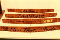 Wine Barrel Stave Words
