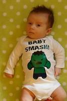 Baby Smash! - Hulk-inspired Baby Body Suit